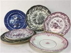 Group Lot of Mixed porcelain & Stoneware plates