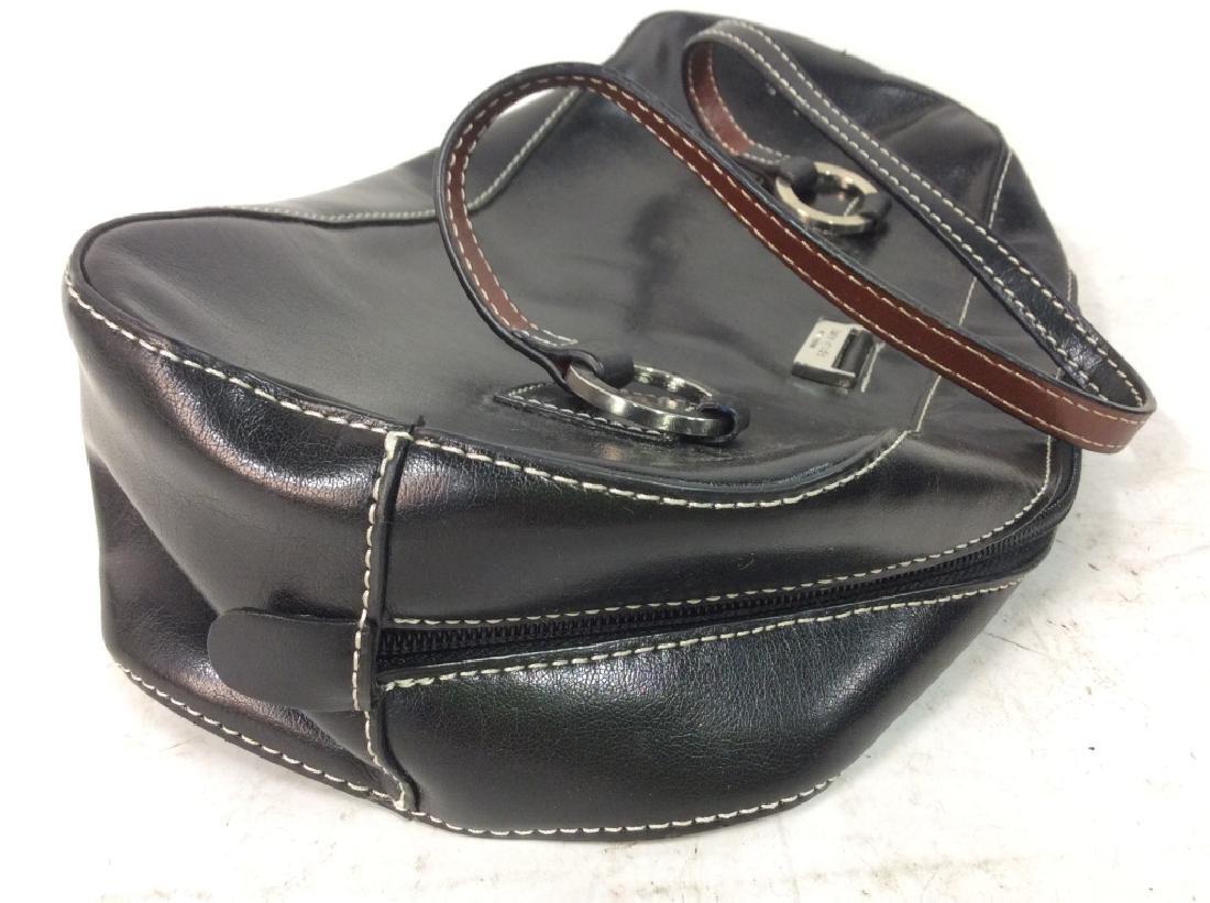 KATE SPADE Black Toned Faux Leather Purse - 5