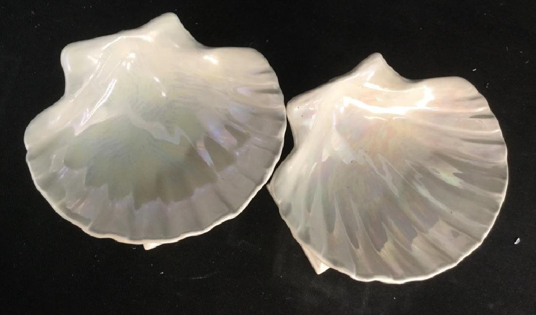 Pair of Seashell Candy Dishes - 3