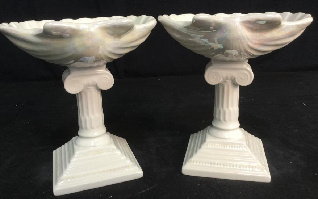 Pair of Seashell Candy Dishes - 5