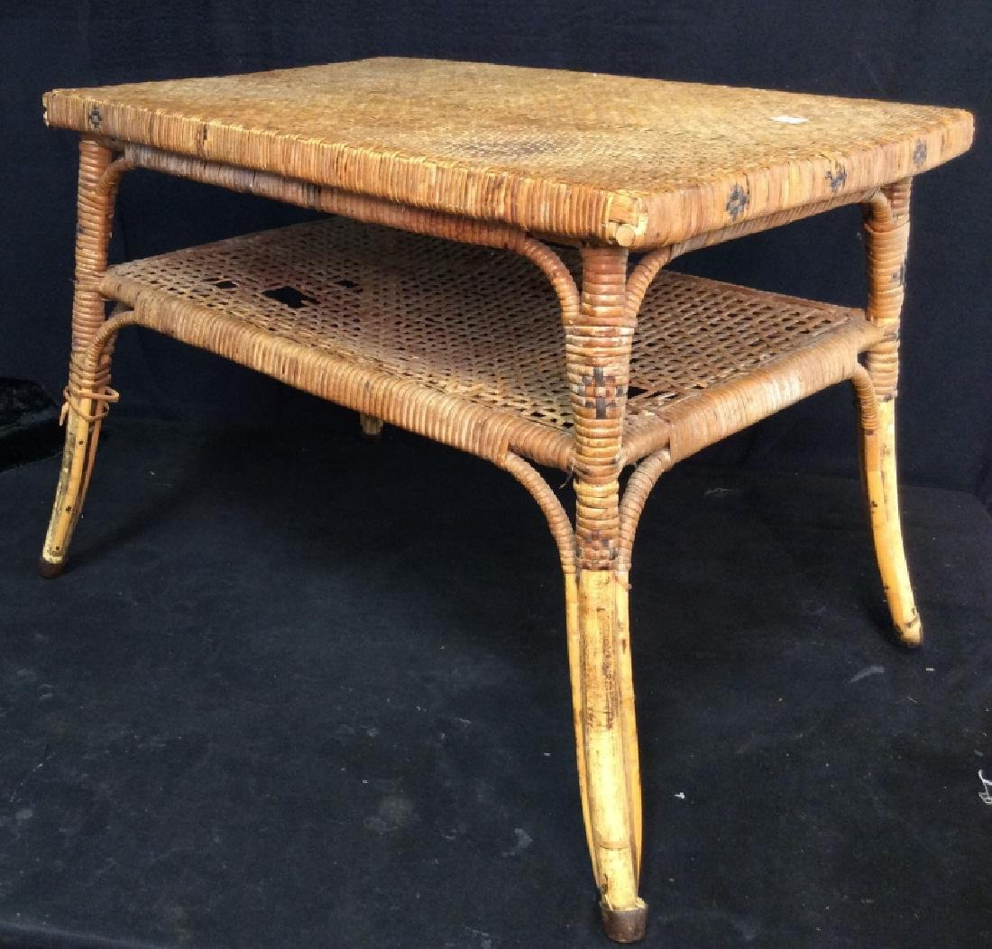 Caned Coffee Table - 2