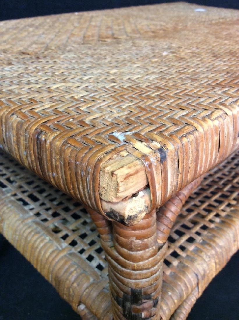 Caned Coffee Table - 4