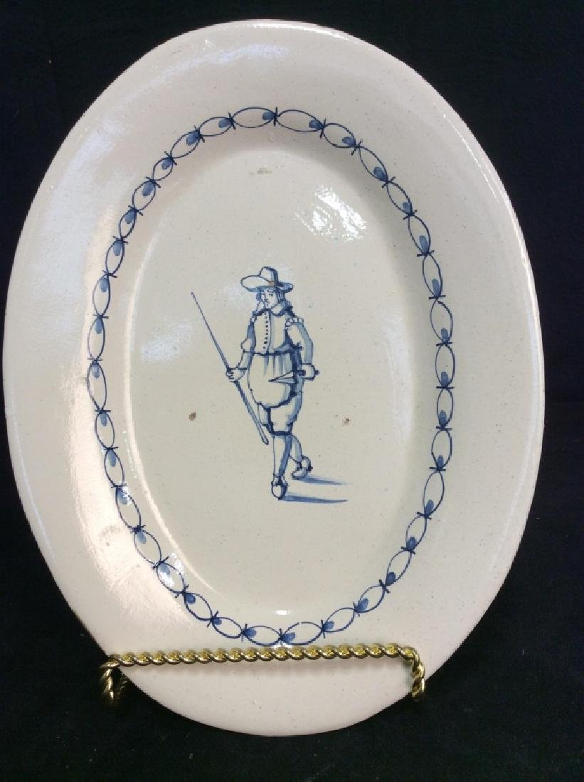 Ceramic Serving Plate - 2