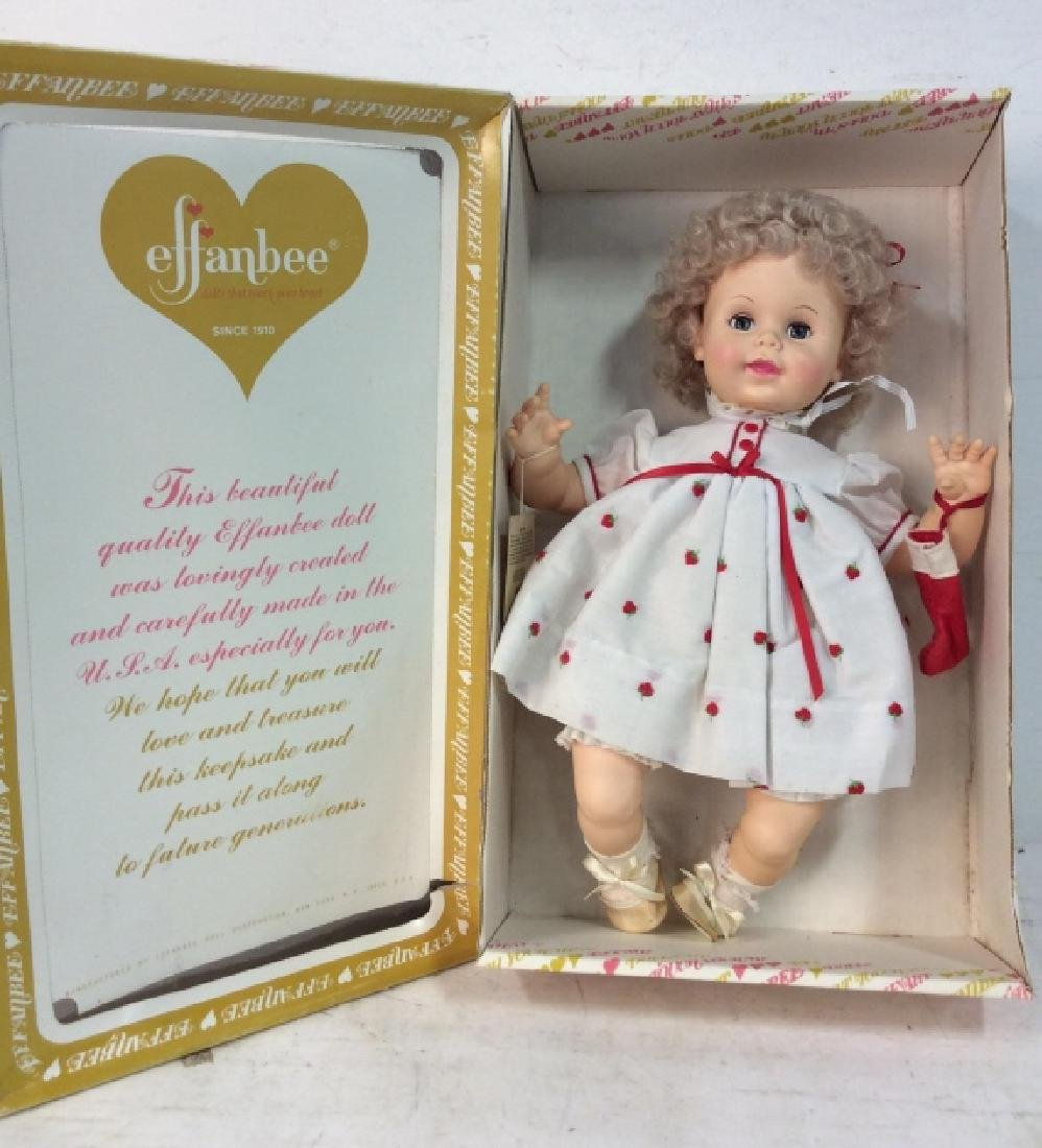 EFFANBEE Collectible Baby's First Christmas Doll