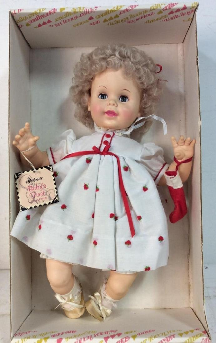 EFFANBEE Collectible Baby's First Christmas Doll - 2