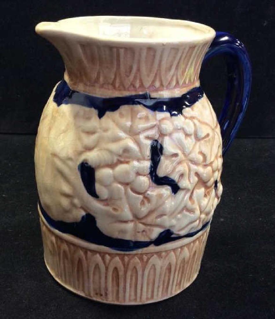 Japanese Glazed Ceramic Pitcher - 4