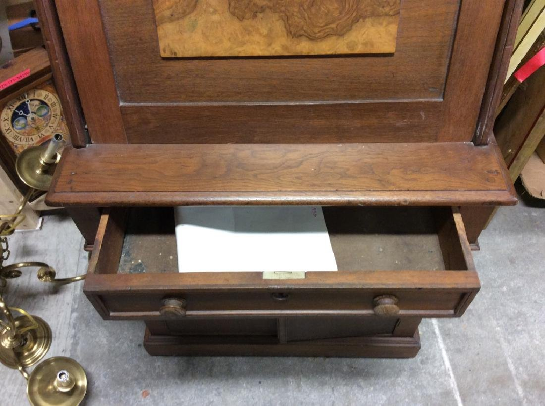 Vintage Wooden Fall Front Writers Desk - 3
