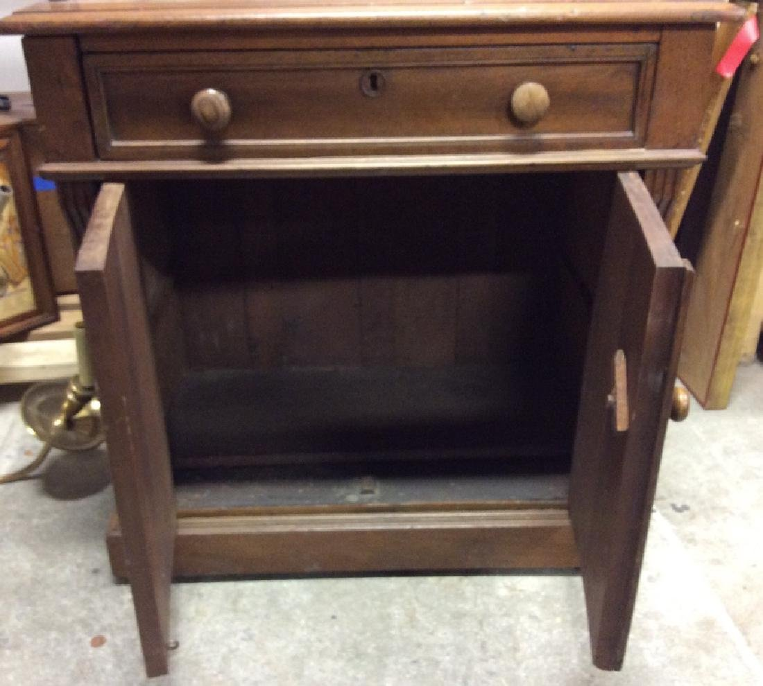 Vintage Wooden Fall Front Writers Desk - 4