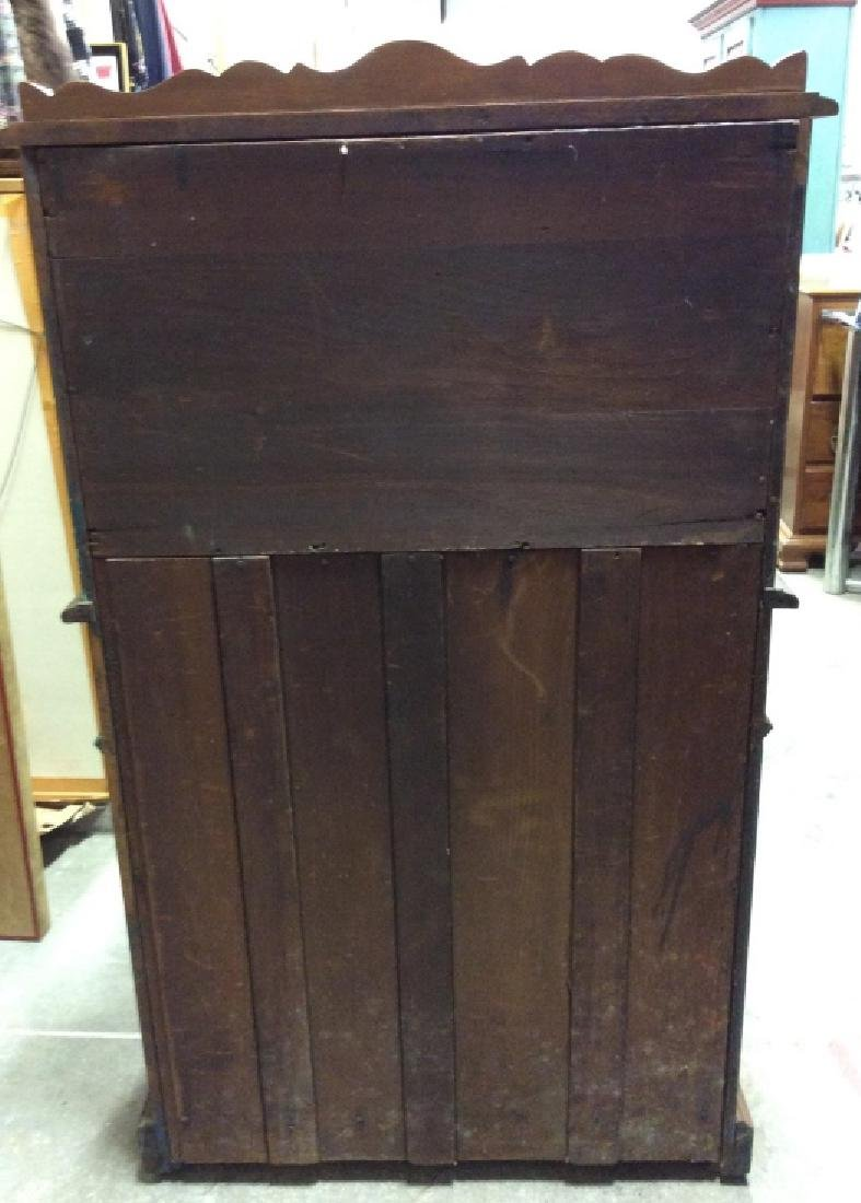 Vintage Wooden Fall Front Writers Desk - 9