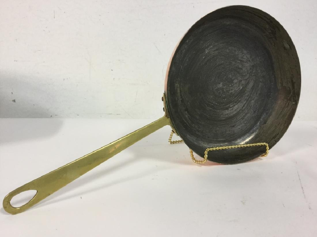 German Copper Frying Pan