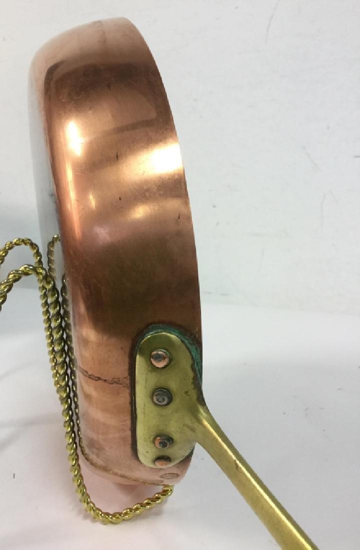 German Copper Frying Pan - 4