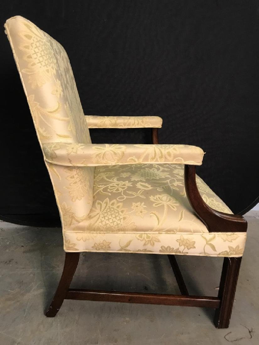 HICKORY CHAIR Upholstered Wooden End Chair - 3