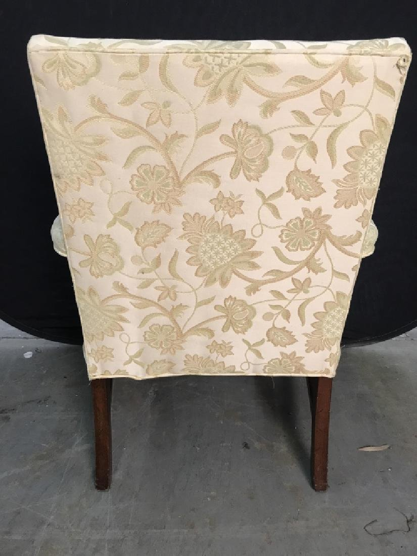 HICKORY CHAIR Upholstered Wooden End Chair - 4