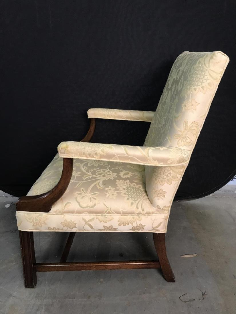 HICKORY CHAIR Upholstered Wooden End Chair - 5