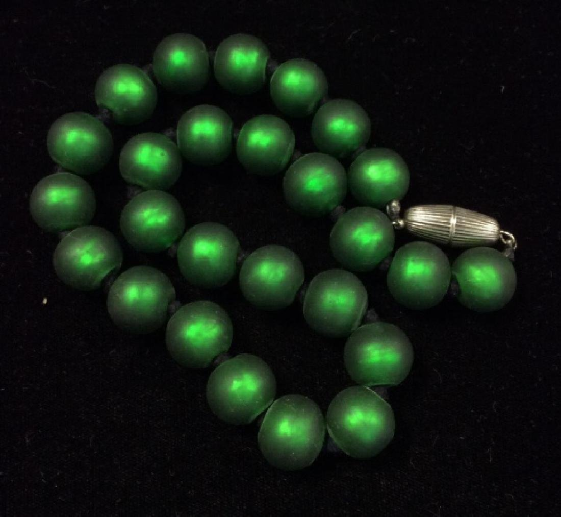 Lot 3 Chunky Beaded Women's Necklaces - 5