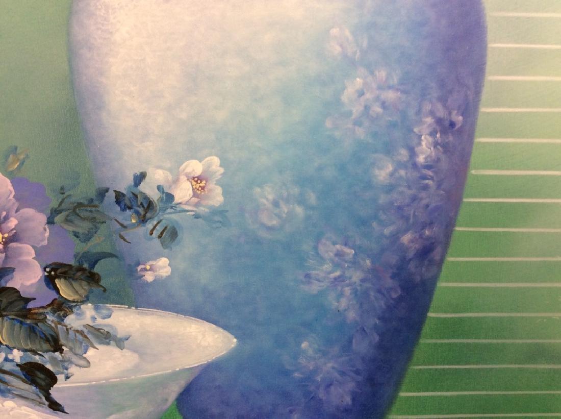 Framed Original Still Life Painting - 10