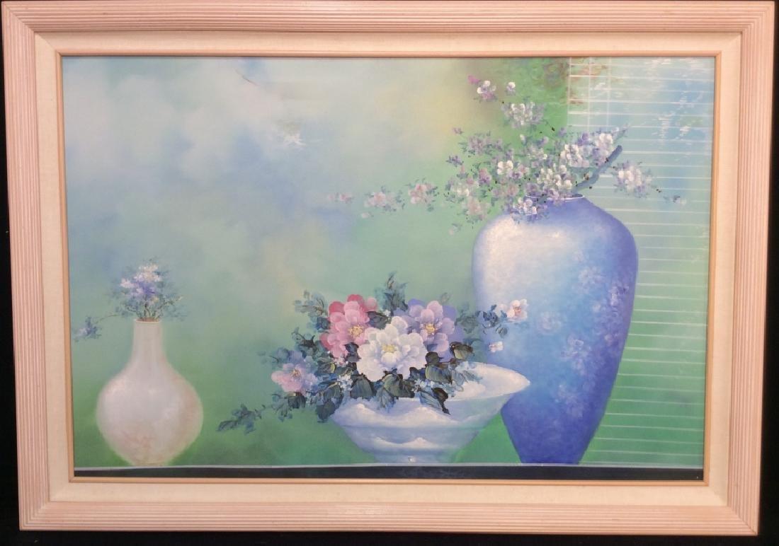 Framed Original Still Life Painting