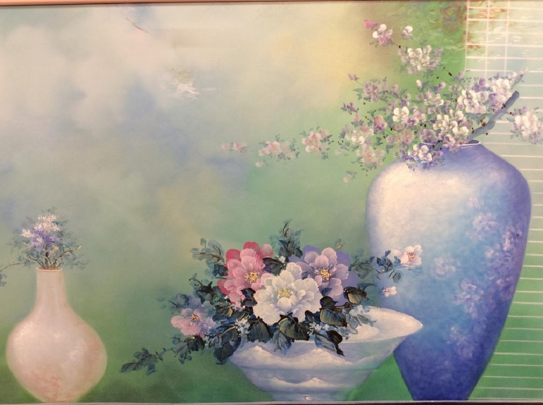 Framed Original Still Life Painting - 2