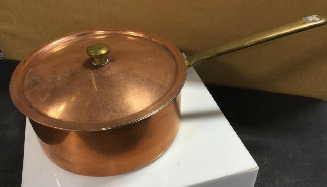 Culinox Copper Lidded Pot