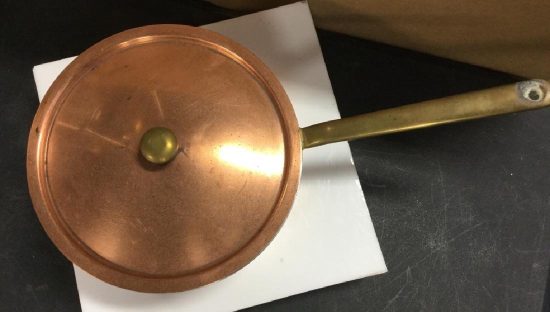 Culinox Copper Lidded Pot - 2