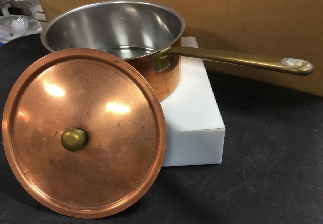 Culinox Copper Lidded Pot - 7
