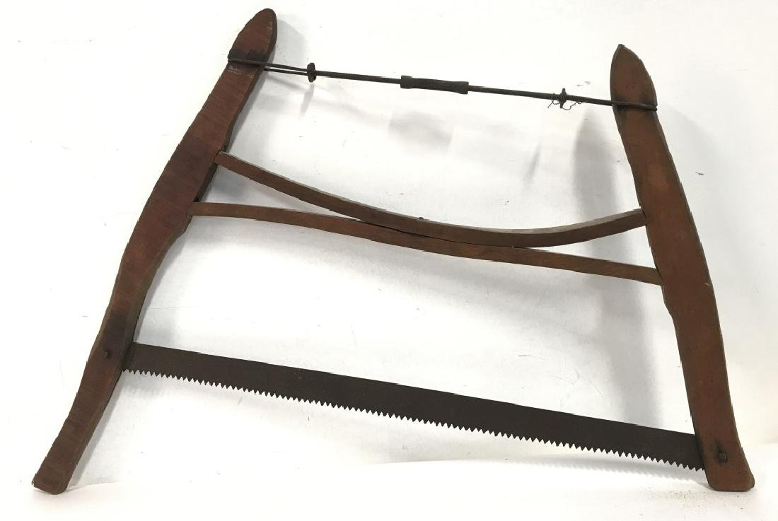 Poss Antique Buck Saw Firewood Cutting Tool