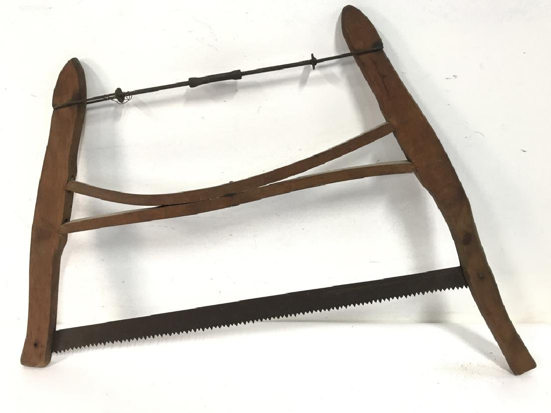 Poss Antique Buck Saw Firewood Cutting Tool - 4