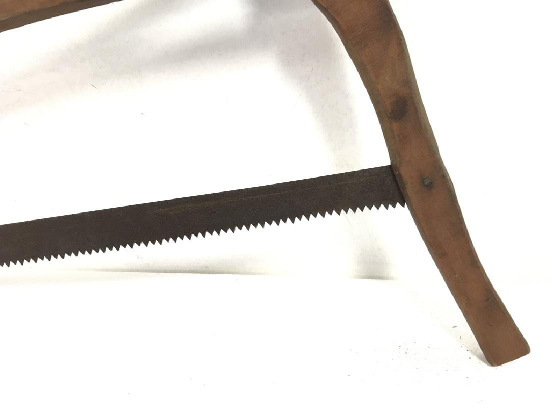 Poss Antique Buck Saw Firewood Cutting Tool - 5