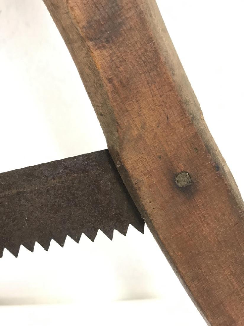 Poss Antique Buck Saw Firewood Cutting Tool - 6
