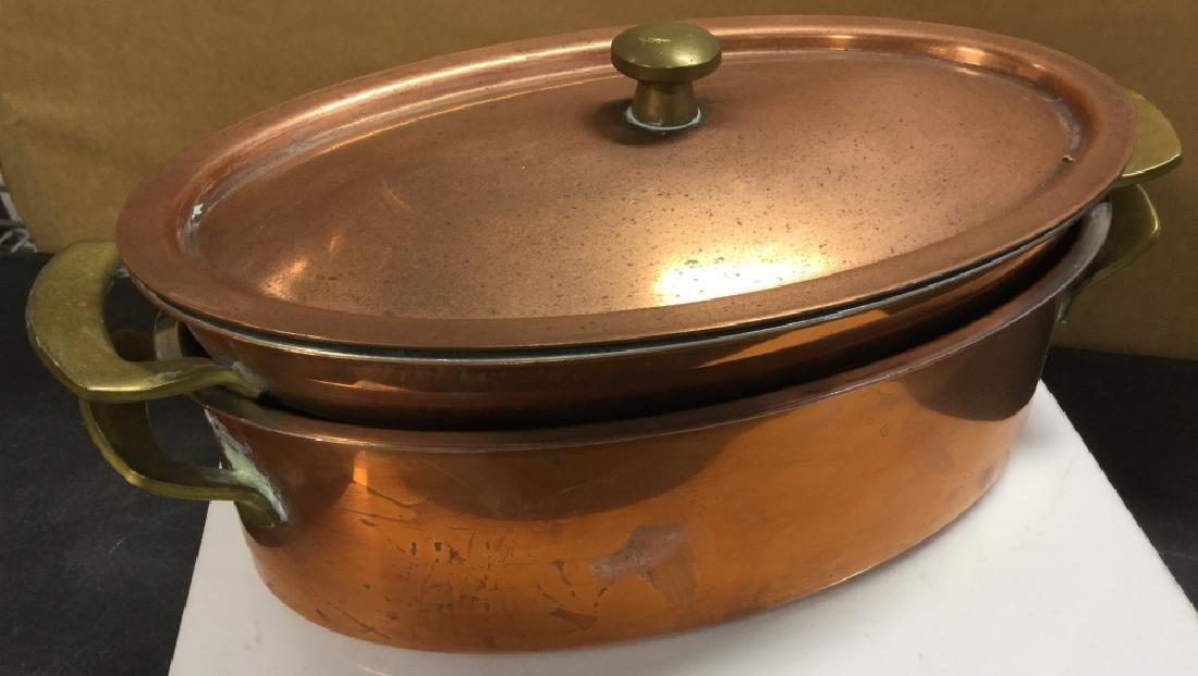 Culinox Copper Lidded Double Boiler