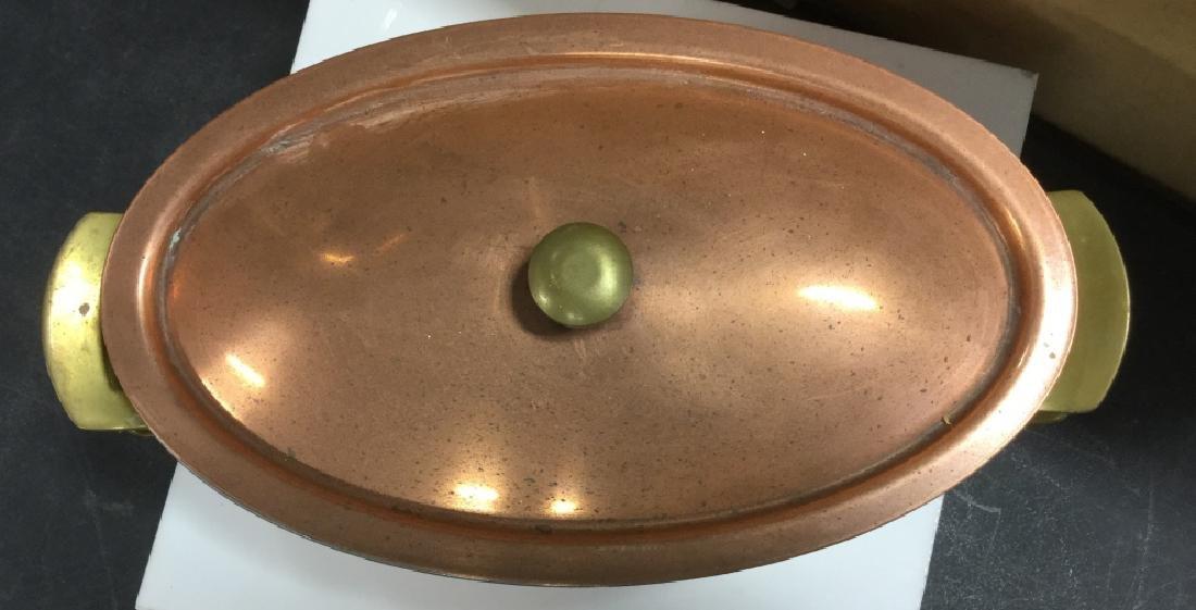 Culinox Copper Lidded Double Boiler - 2