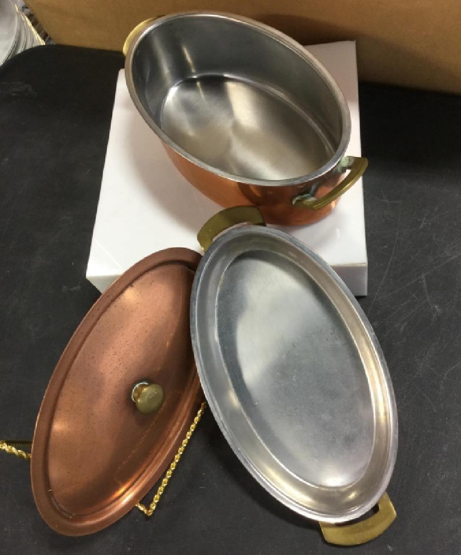Culinox Copper Lidded Double Boiler - 4