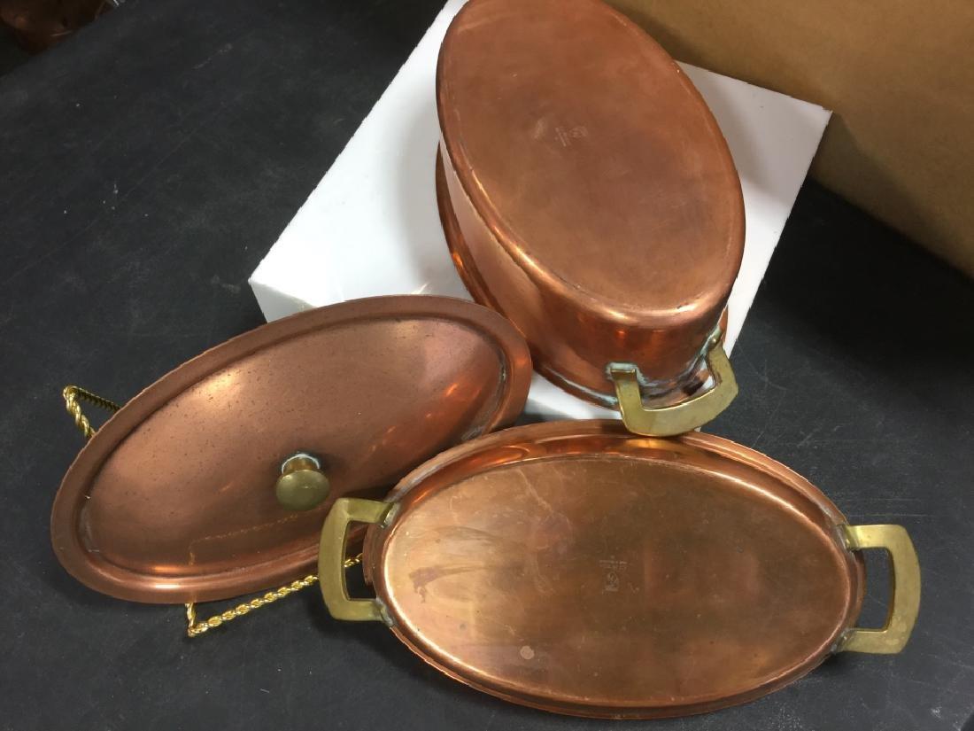 Culinox Copper Lidded Double Boiler - 5