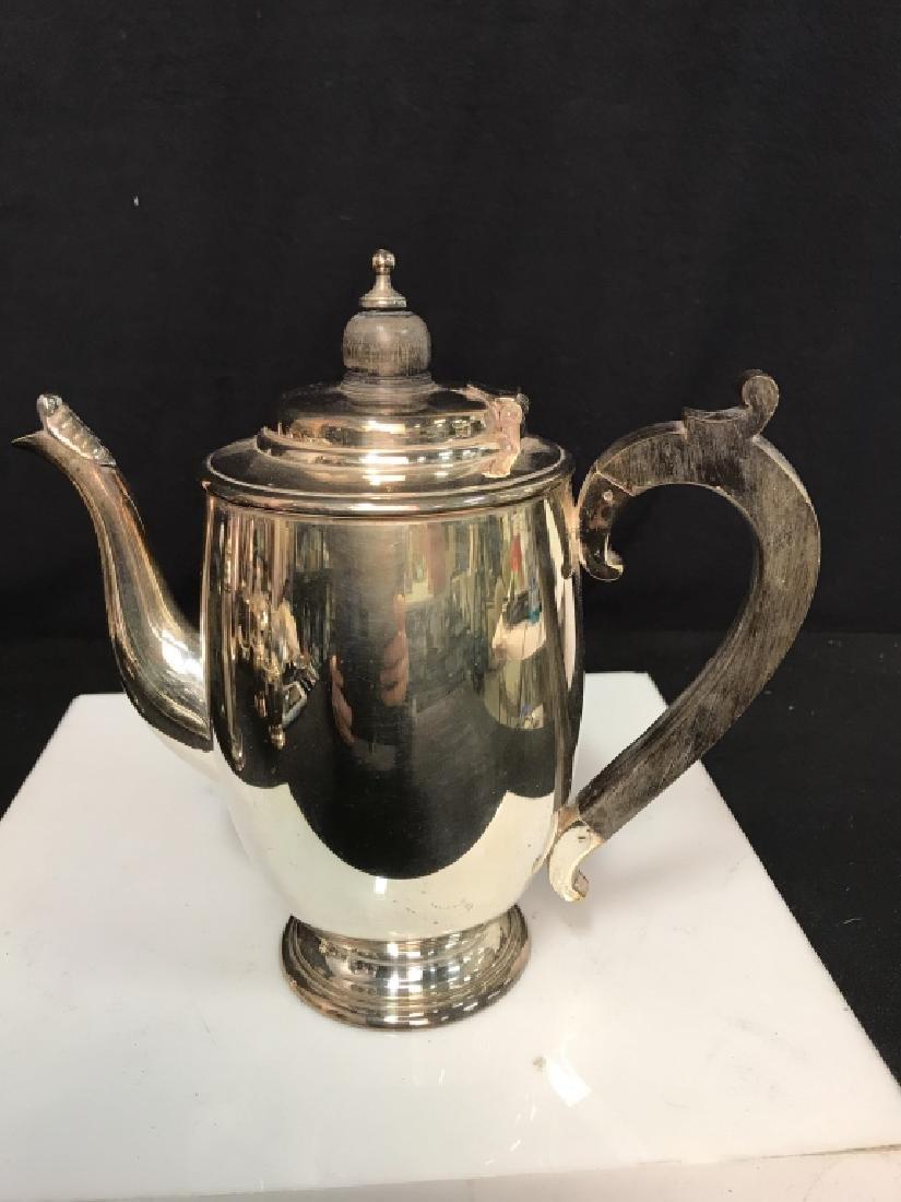 Silverplate tea service - 10