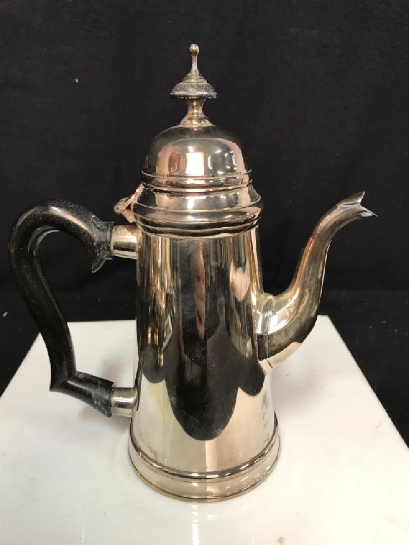 Silverplate tea service - 4