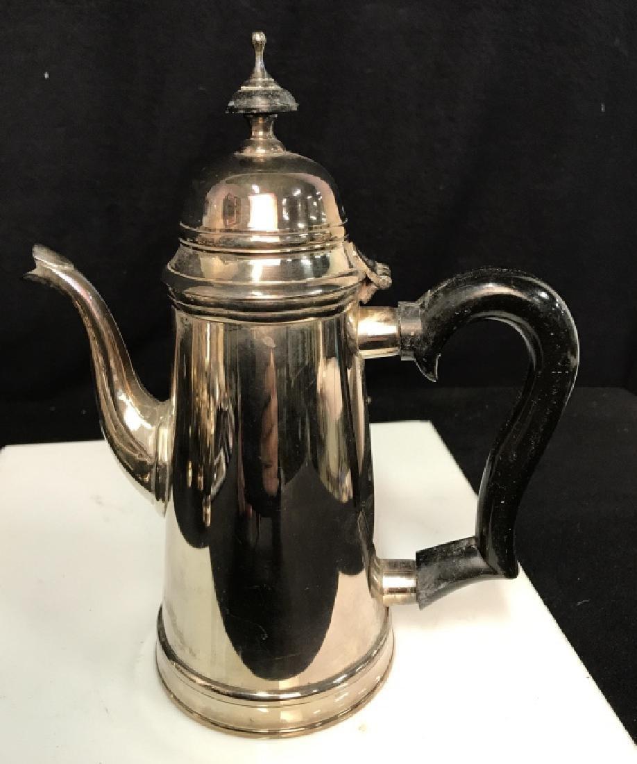 Silverplate tea service - 7