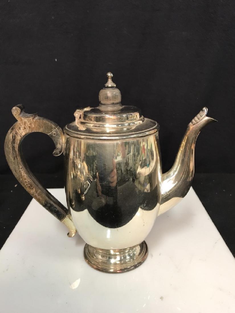 Silverplate tea service - 8