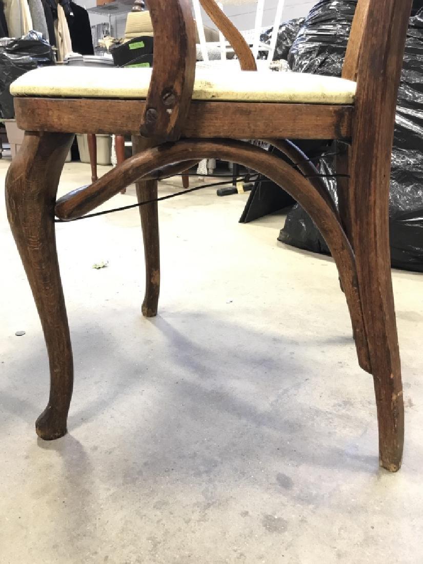Set 4 Thonet Austrian Mid Century Bent Wood Chairs - 10
