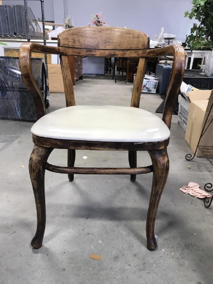 Set 4 Thonet Austrian Mid Century Bent Wood Chairs - 4