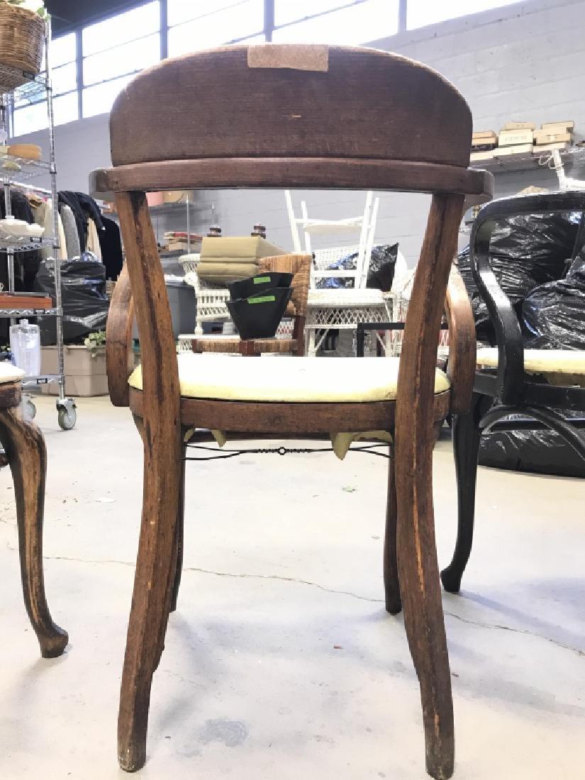 Set 4 Thonet Austrian Mid Century Bent Wood Chairs - 8