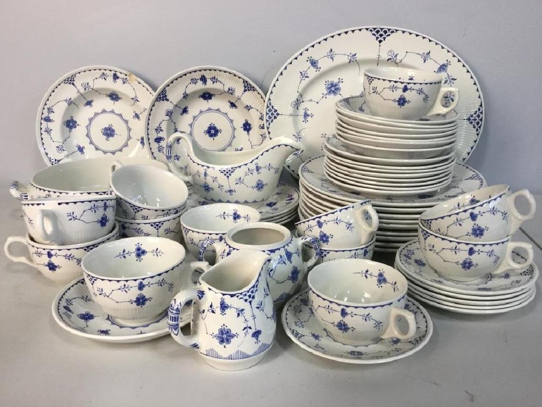 'Denmark' Patterned Partial Dinner Service
