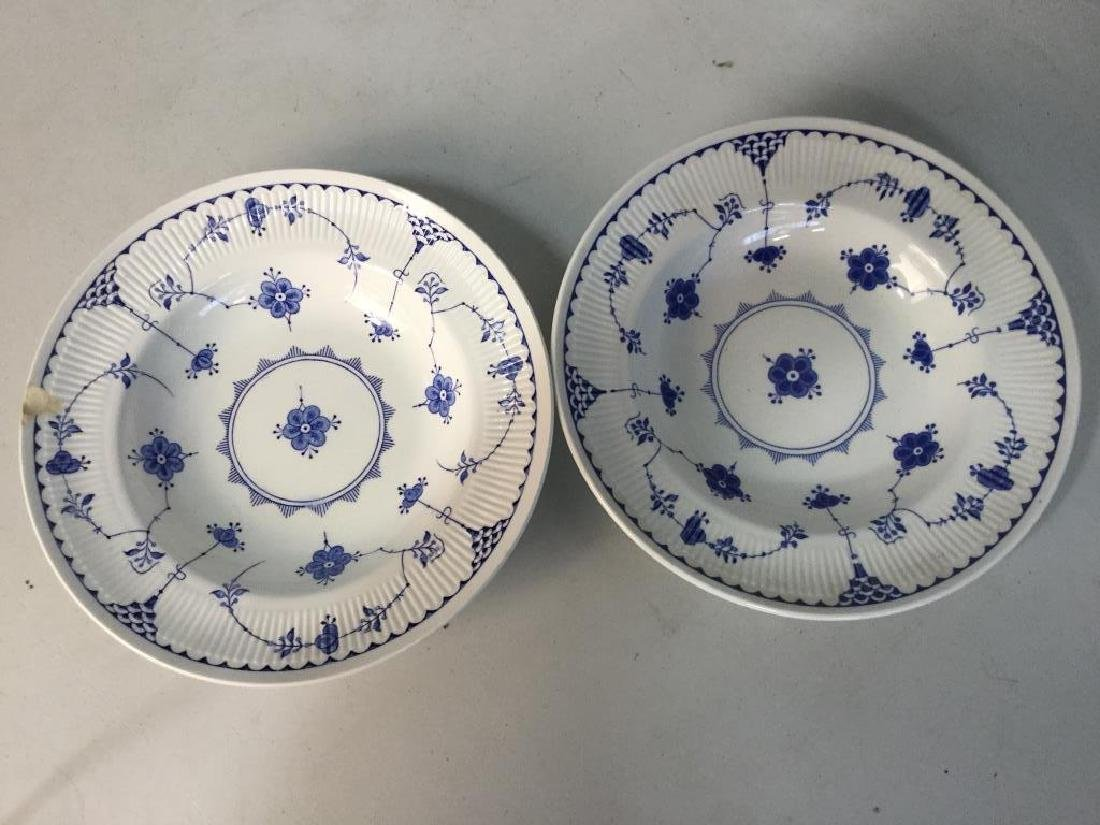 'Denmark' Patterned Partial Dinner Service - 7