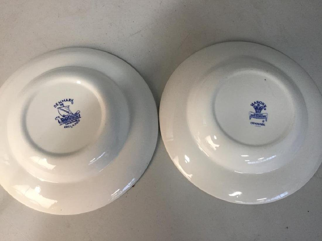 'Denmark' Patterned Partial Dinner Service - 8