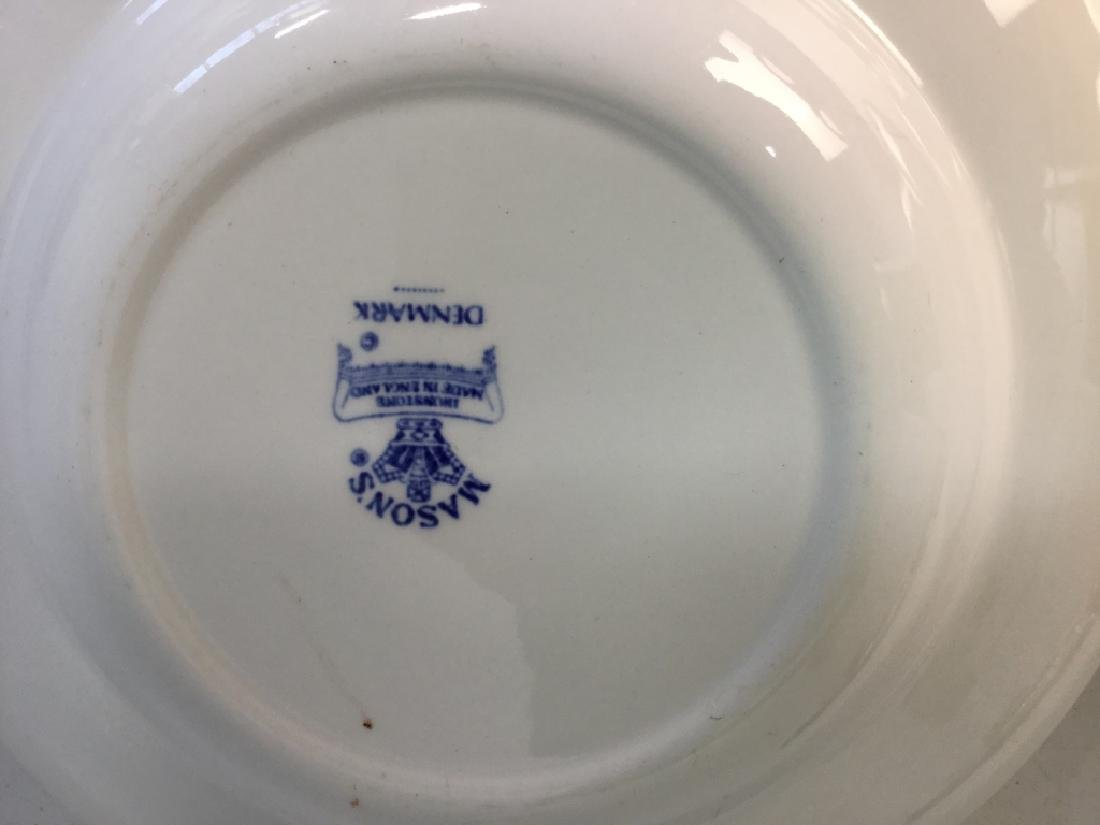 'Denmark' Patterned Partial Dinner Service - 9