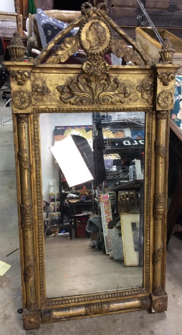 Empire Style Wall Mirror - 2