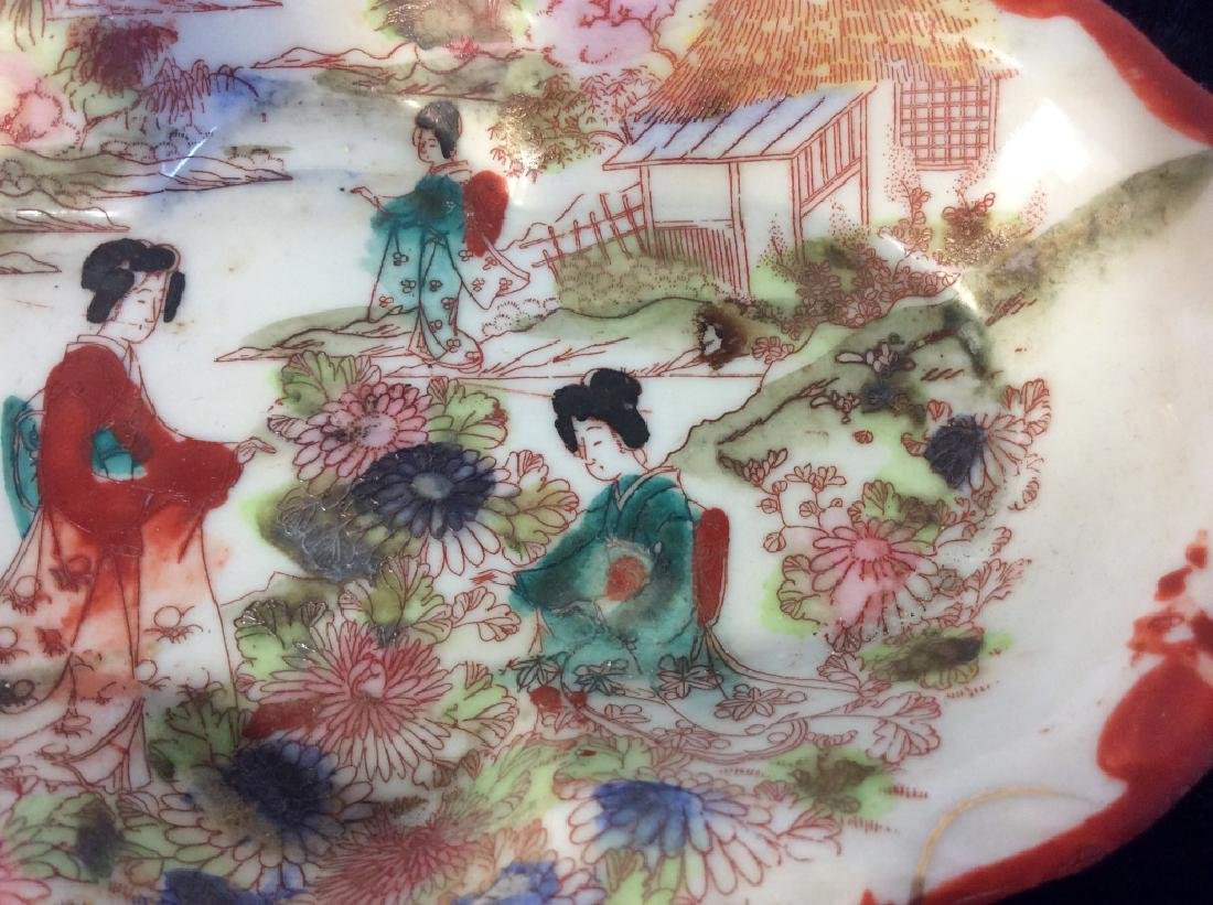 Group Lot of Asian Porcelain Dishes - 10