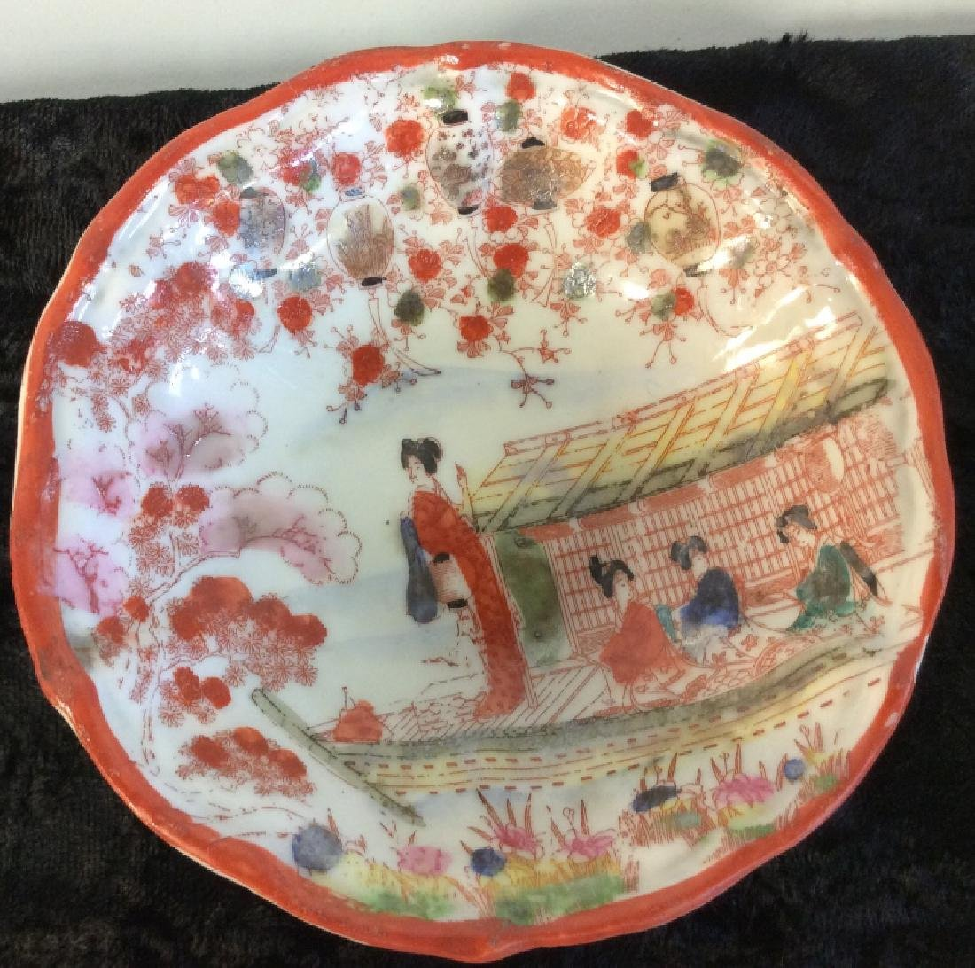 Group Lot of Asian Porcelain Dishes - 2