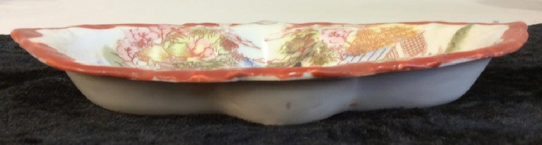 Group Lot of Asian Porcelain Dishes - 9