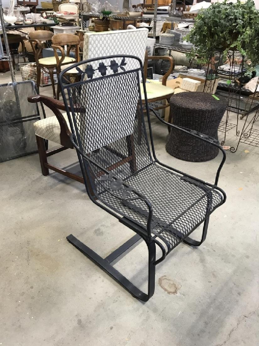 Woodard Briarwood Wrought Iron Chair - 7