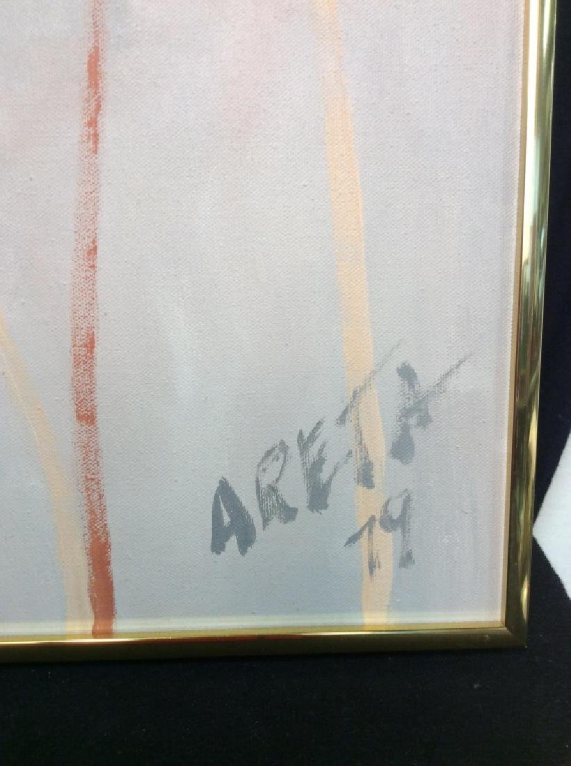 Signed and Framed Oil Painting On Canvas - 2